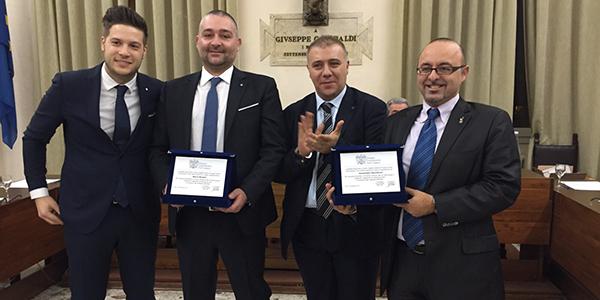 Alessandro Zaccheroni premiato per l'attività svolta nei Giovani di Confindustria Forlì-Cesena