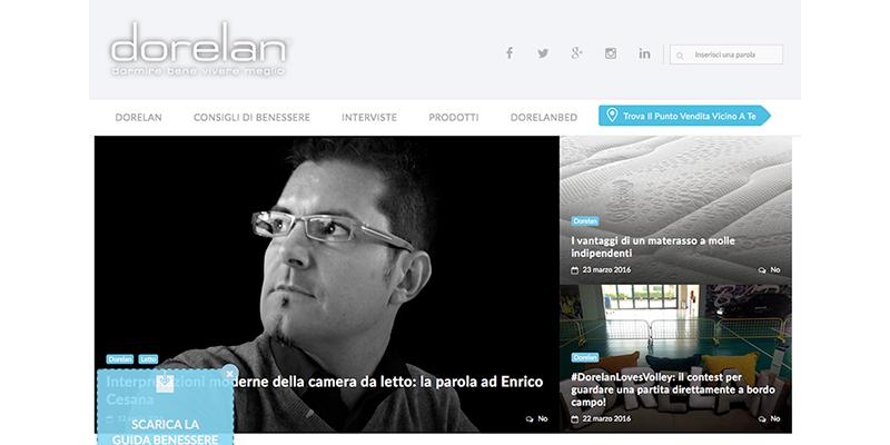 E' online il Nuovo Blog Dorelan